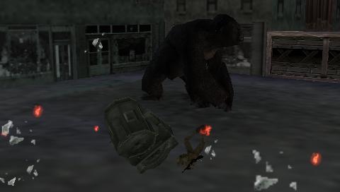 King Kong (2005) (PSP)  © Ubisoft 2005   6/7