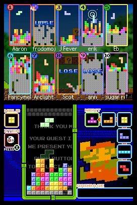 Tetris DS (NDS)  © Nintendo 2006   4/8