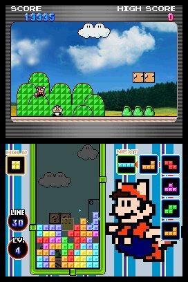Tetris DS (NDS)  © Nintendo 2006   5/8