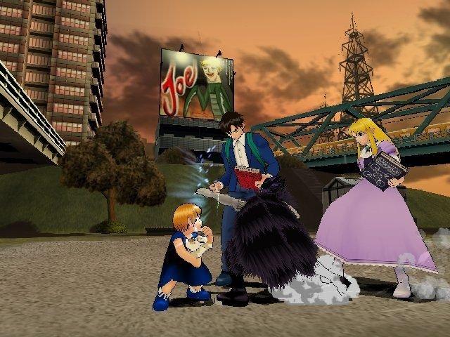 ZatchBell! Mamodo Battles (GCN)  © Bandai 2005   4/9