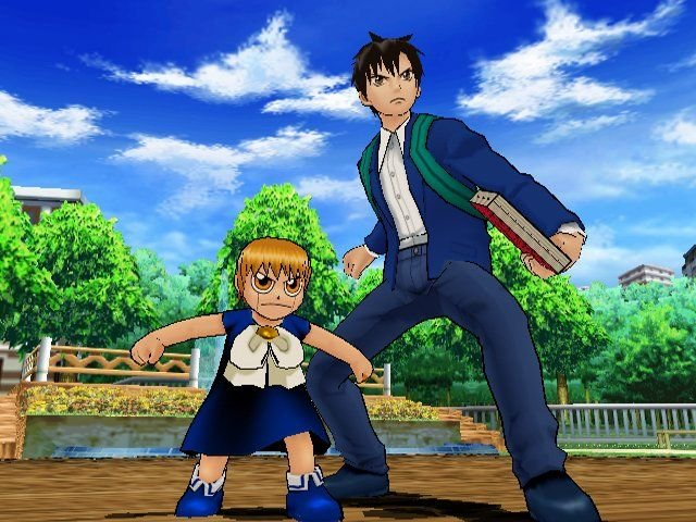 ZatchBell! Mamodo Battles (GCN)  © Bandai 2005   7/9