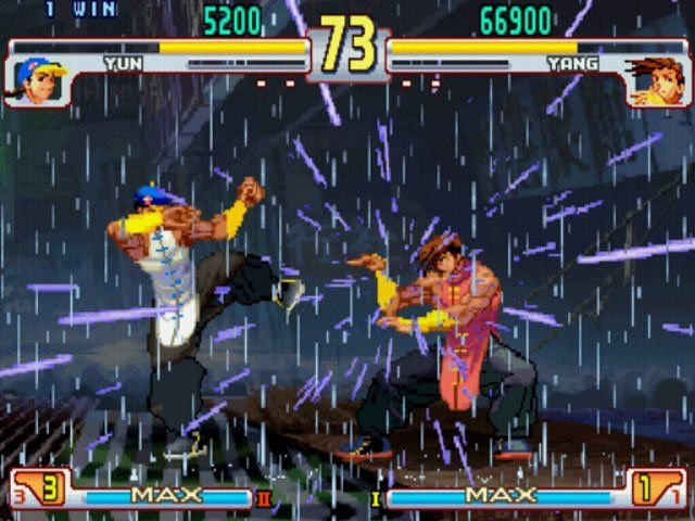 Street Fighter III: 3rd Strike: Fight For The Future   © Capcom 2000   (PS2)    5/5