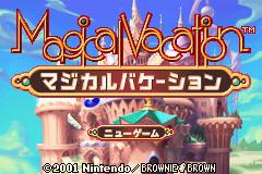 Magical Vacation (GBA)  © Nintendo 2001   1/3