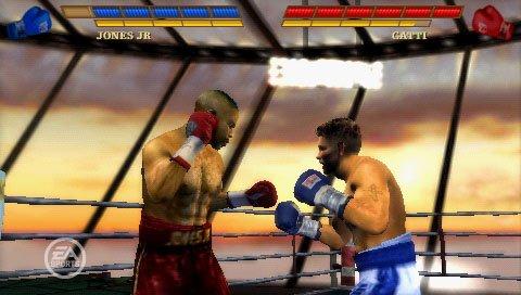 Fight Night: Round 3 (PSP)  © EA 2006   4/4