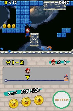 New Super Mario Bros. (NDS)   © Nintendo 2006    3/8