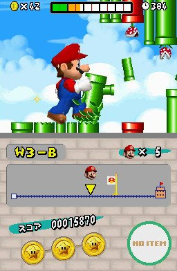 New Super Mario Bros. (NDS)   © Nintendo 2006    6/8