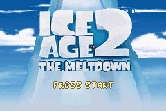 Ice Age 2: The Meltdown (GBA)   © Sierra 2006    1/3