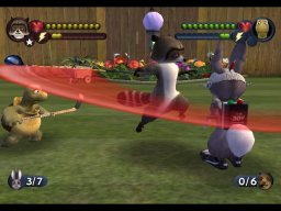 Over The Hedge (XBX)  © Activision 2006   2/3