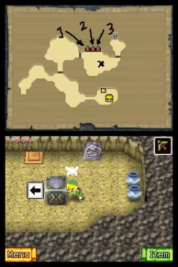 The Legend Of Zelda: Phantom Hourglass (NDS)   © Nintendo 2007    2/5