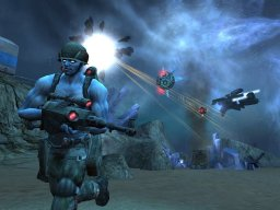 Rogue Trooper (PS2)   © Eidos 2006    2/3