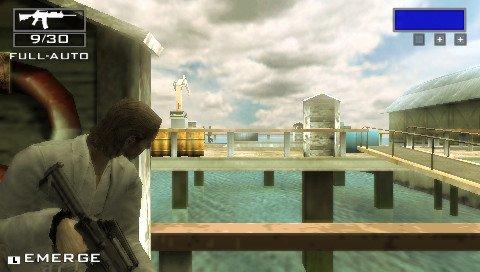 Miami Vice: The Game (PSP)  © VU Games 2006   4/6