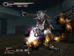 Final Fantasy VII: Dirge Of Cerberus (PS2)  © Square Enix 2006   3/4