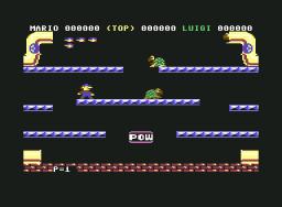 Mario Bros. (C64)  © Atari Corp. 1984   2/3