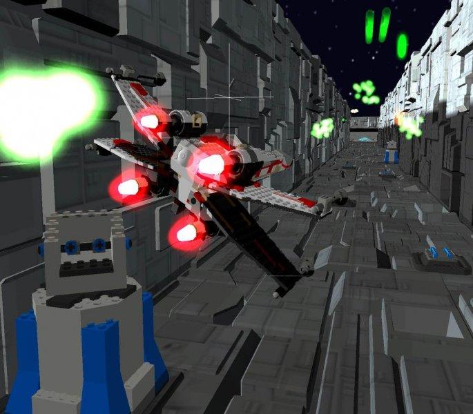 Lego Star Wars II: The Original Trilogy (PS2)  © LucasArts 2006   4/6