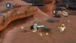 Lego Star Wars II: The Original Trilogy (PSP)   © LucasArts 2006    1/5