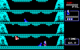 Ice Climber (PC88) &nbsp; &copy; Hudson 1985 &nbsp;  2/3