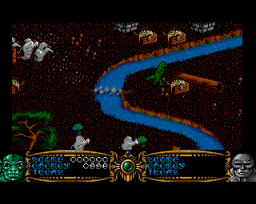 Gauntlet III: The Final Quest (AMI)   © U.S. Gold 1991    2/3
