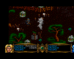 Gauntlet III: The Final Quest (AMI)   © U.S. Gold 1991    3/3