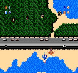 Crisis Force (NES)  © Konami 1991   3/3