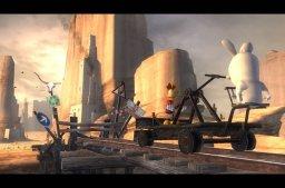 Rayman: Raving Rabbids (PS2)  © Ubisoft 2006   2/3