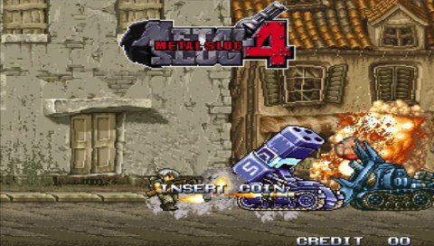 Metal Slug Anthology (PSP)   © SNK Playmore 2006    4/9