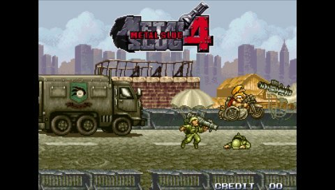 Metal Slug Anthology (PSP)   © SNK Playmore 2006    5/9