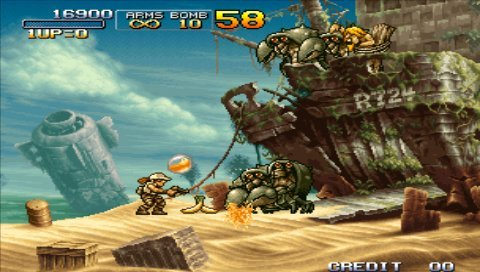 Metal Slug Anthology (PSP)   © SNK Playmore 2006    6/9