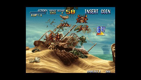 Metal Slug Anthology (PSP)   © SNK Playmore 2006    7/9