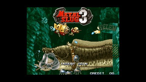 Metal Slug Anthology (PSP)   © SNK Playmore 2006    8/9