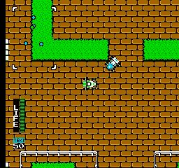 Gekitotsu Yonku Battle (NES)  © Irem 1989   2/3