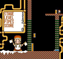 Gorby No Pipeline Daisakusen (NES)  © Tokuma Shoten 1991   2/3