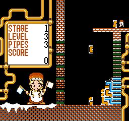 Gorby No Pipeline Daisakusen (NES)  © Tokuma Shoten 1991   3/3