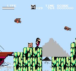 Hi No Tori: Houou Hen: Gaou No Bouken (NES)  © Konami 1987   2/3