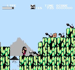Hi No Tori: Houou Hen: Gaou No Bouken (NES)  © Konami 1987   3/3