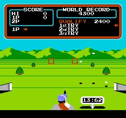 Hyper Sports (NES)  © Konami 1985   3/3