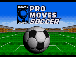 AWS Pro Moves Soccer (SMD)  © ASCII 1994   1/3