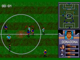 AWS Pro Moves Soccer (SMD)  © ASCII 1994   2/3