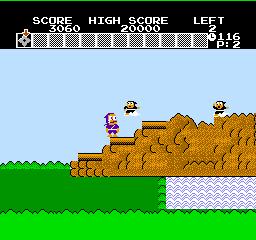 Ninja Hattori-Kun (NES)  © Hudson 1986   3/3