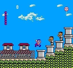 Paaman: Enban Wo Torikaese!! (NES)  © Irem 1990   2/3