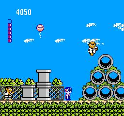 Paaman: Enban Wo Torikaese!! (NES)  © Irem 1990   3/3