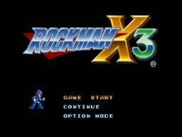 Mega Man X3 (SS)  © Capcom 1996   1/6