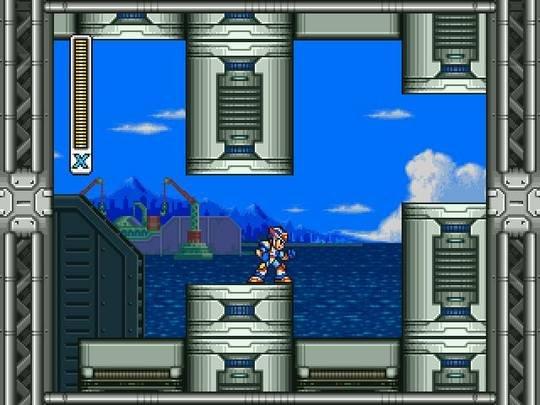 Mega Man X3 (SS)  © Capcom 1996   5/6