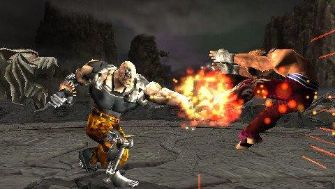 Tekken 5: Dark Resurrection (PSP)  © Bandai Namco 2006   4/6