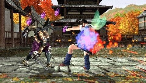 Tekken 5: Dark Resurrection (PSP)  © Bandai Namco 2006   5/6