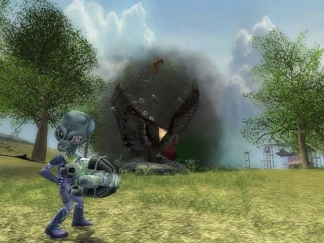 Destroy All Humans! 2 (PS2)   © THQ 2006    4/8