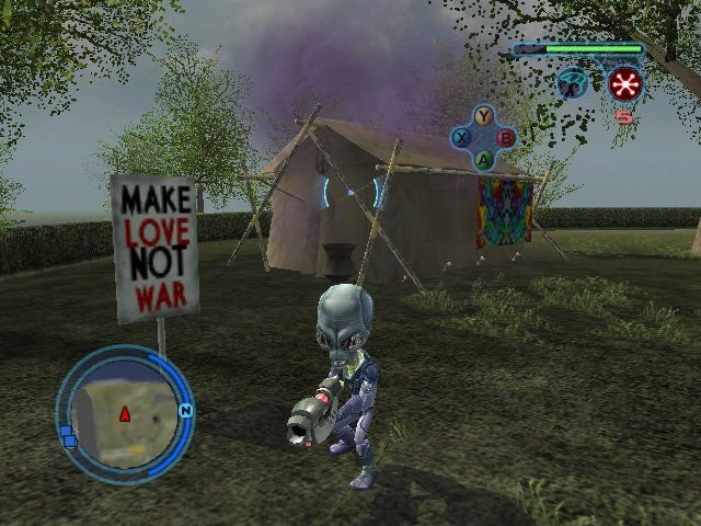 Destroy All Humans! 2 (PS2)   © THQ 2006    6/8