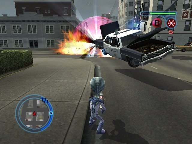 Destroy All Humans! 2 (PS2)   © THQ 2006    7/8