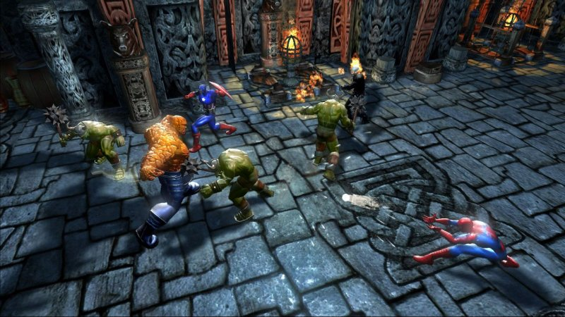Marvel: Ultimate Alliance (X360)  © Activision 2006   4/6