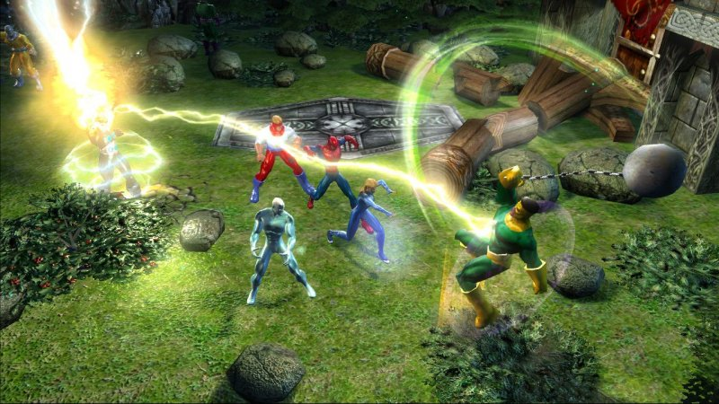 Marvel: Ultimate Alliance (X360)  © Activision 2006   5/6