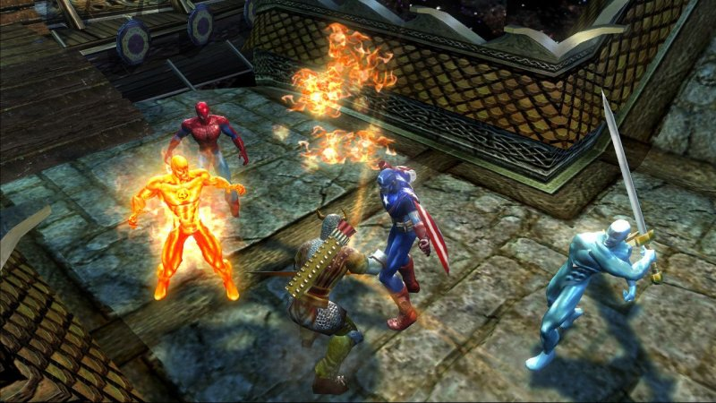 Marvel: Ultimate Alliance (X360)  © Activision 2006   6/6